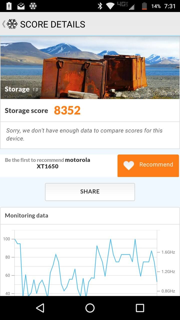 Motorola Lenovo Moto Z Screenshots benchmark 1
