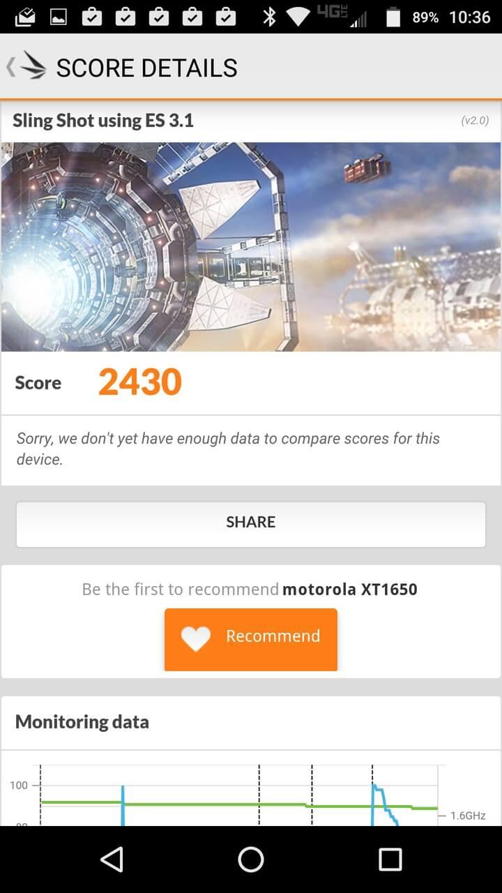 Motorola Lenovo Moto Z Screenshots benchmark 9