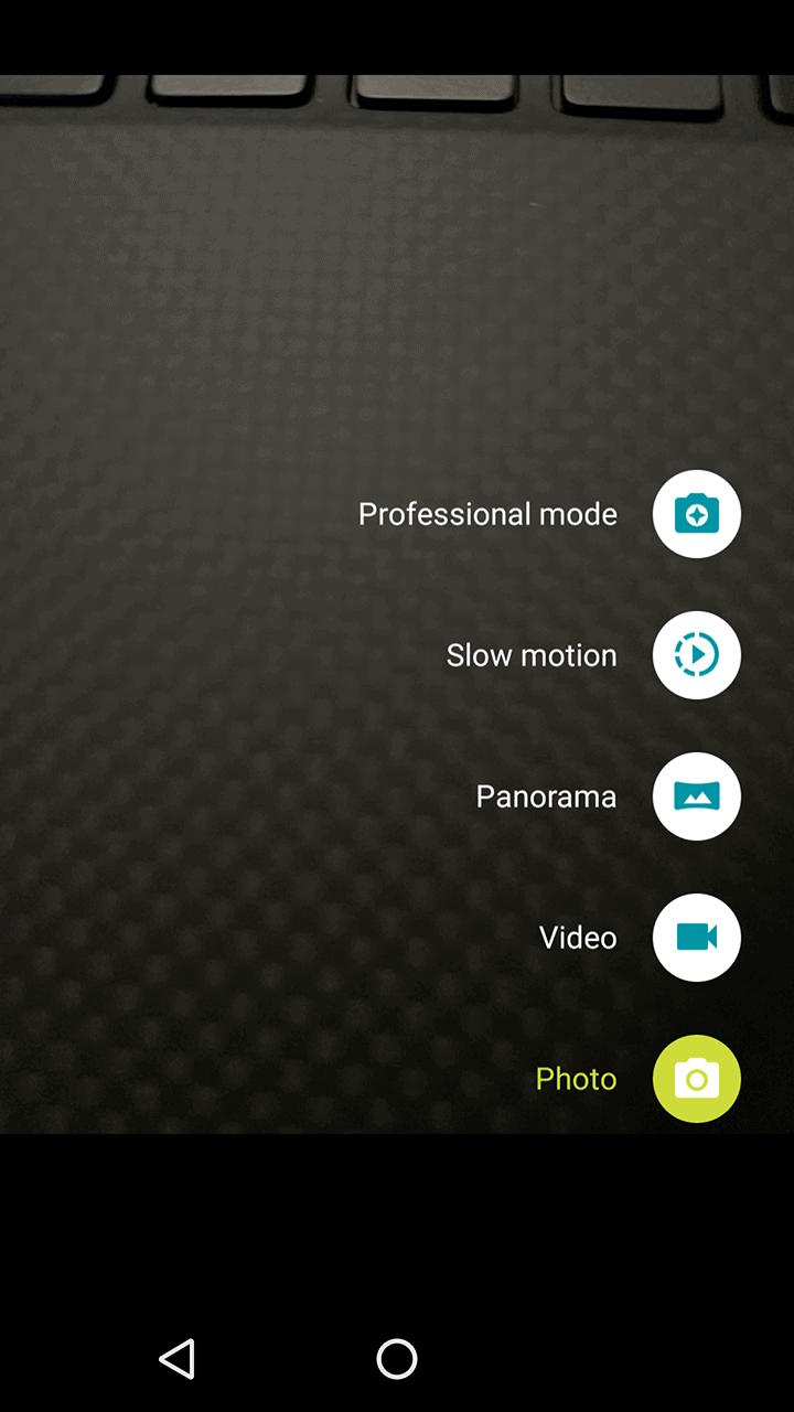 Motorola Lenovo Moto Z Screenshots camera 3
