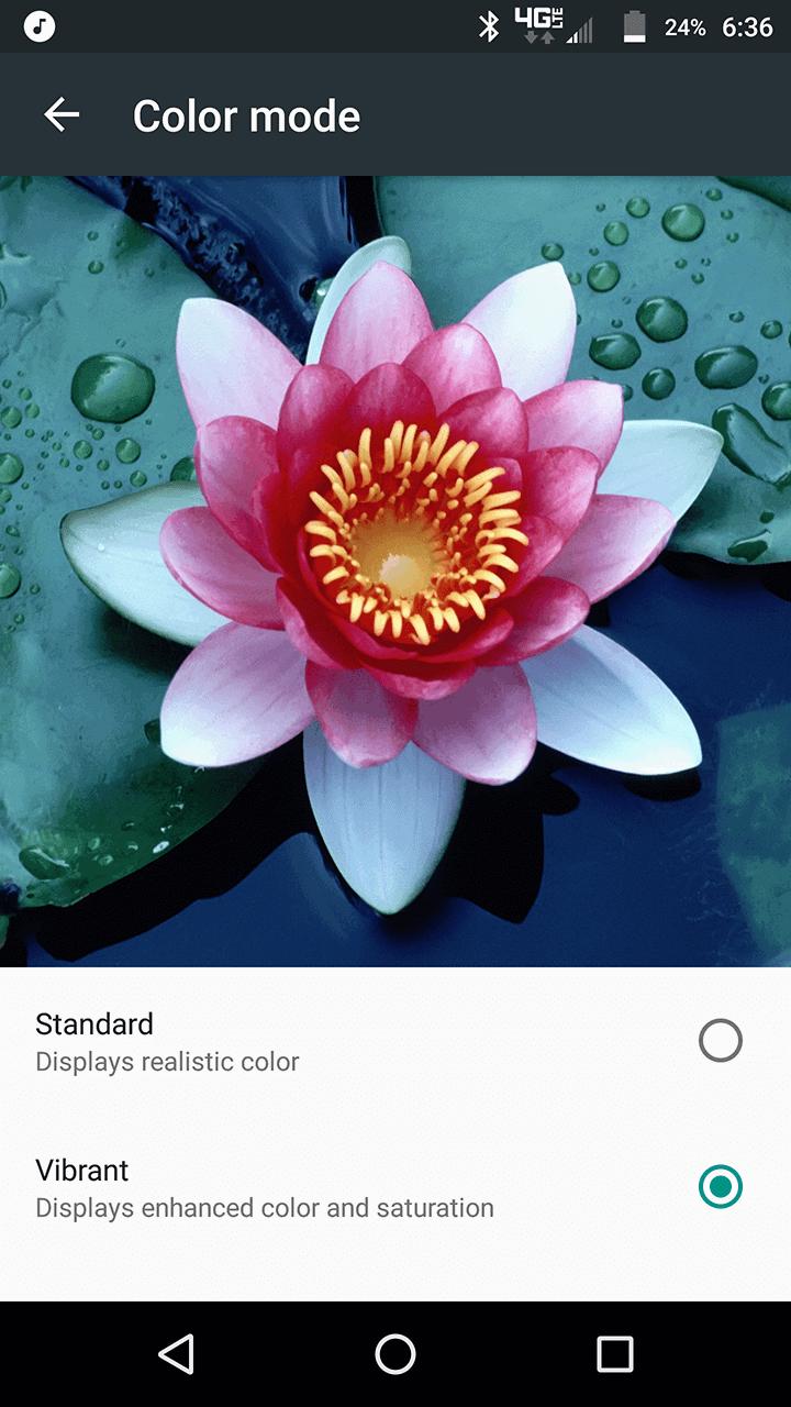 Motorola Lenovo Moto Z Screenshots display 1
