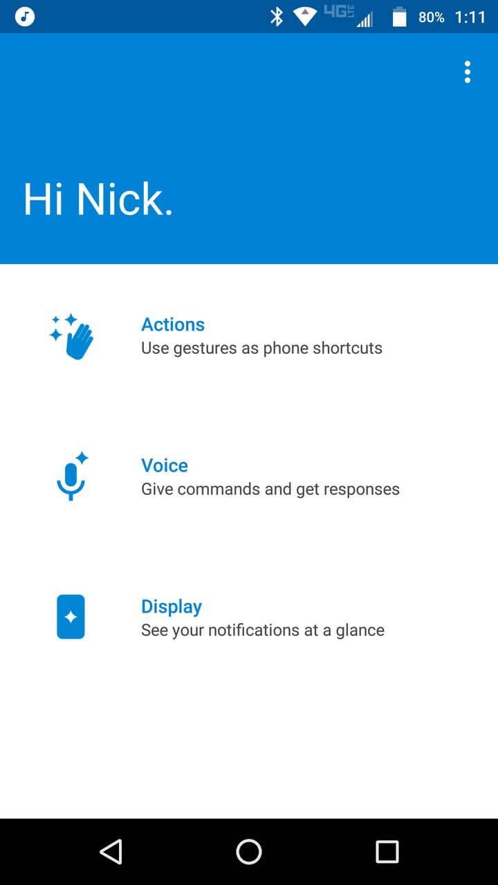 Motorola Lenovo Moto Z Screenshots moto 1