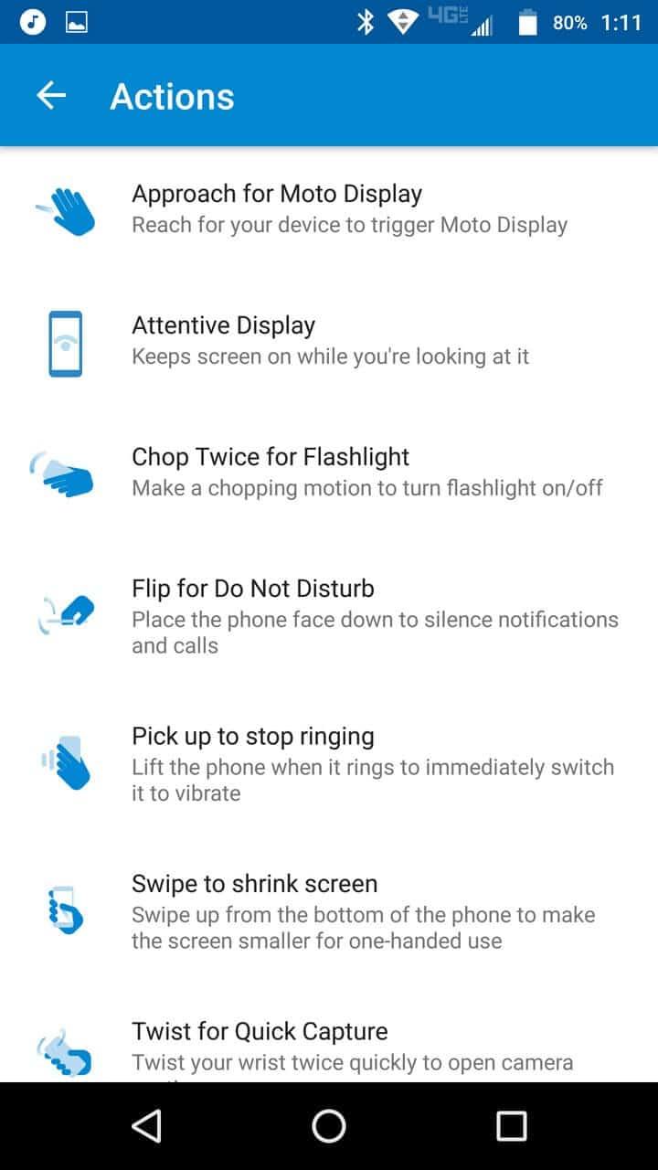 Motorola Lenovo Moto Z Screenshots moto 2