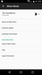 Motorola Lenovo Moto Z Screenshots moto mods 1