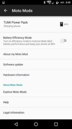 Motorola Lenovo Moto Z Screenshots moto mods 5