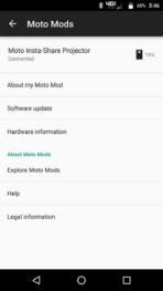 Motorola Lenovo Moto Z Screenshots moto mods 6