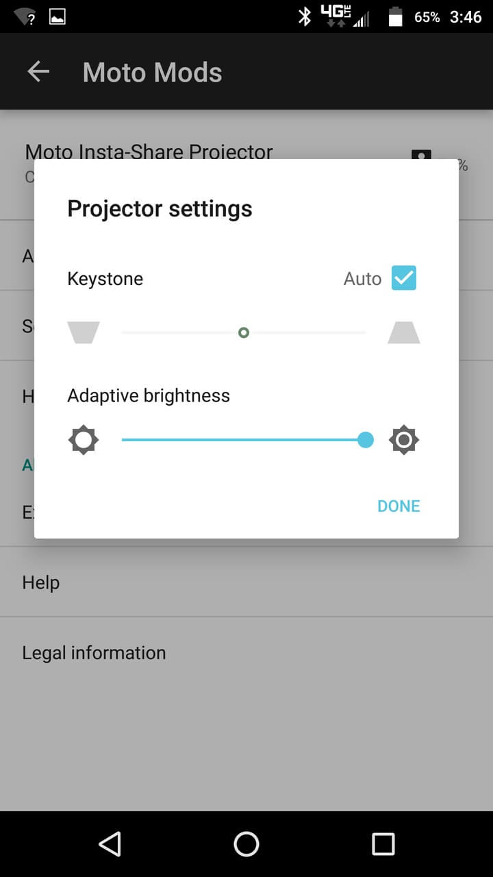 Motorola Lenovo Moto Z Screenshots moto mods 7