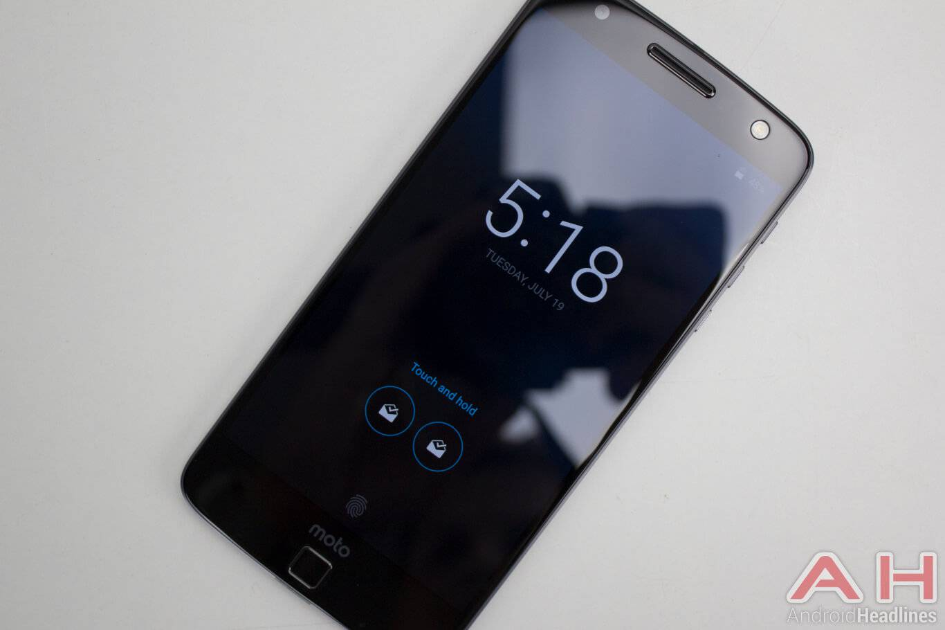 Motorola Lenovo Moto Z moto display