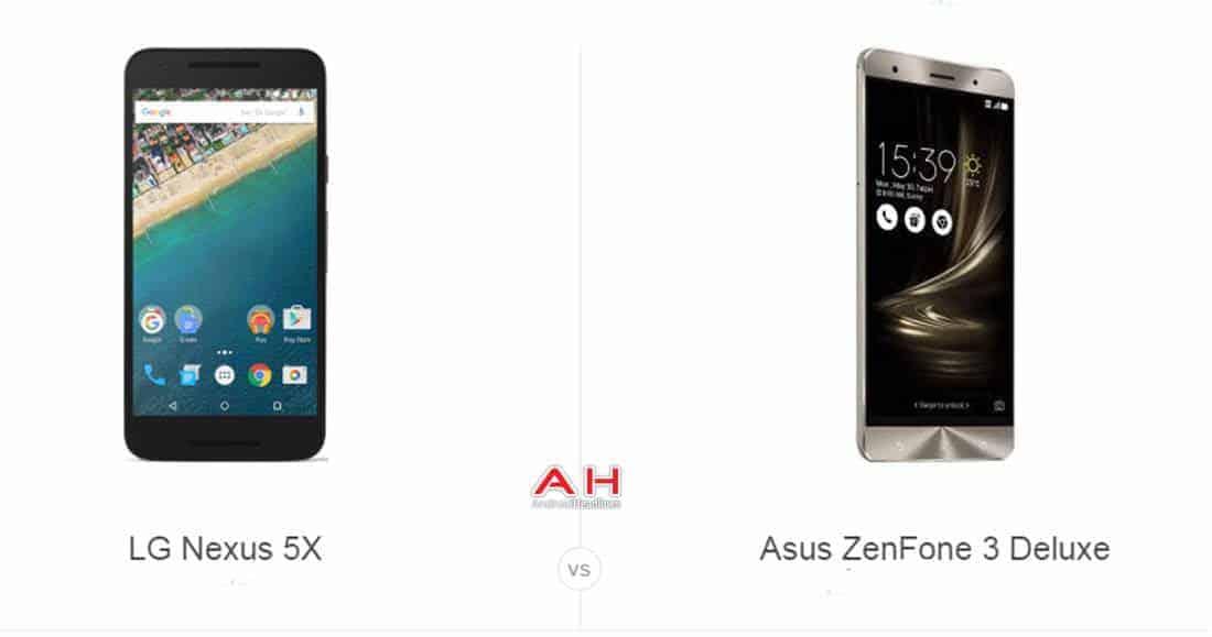 Nexus 5X vs ZenFone 3 Deluxe cam AH