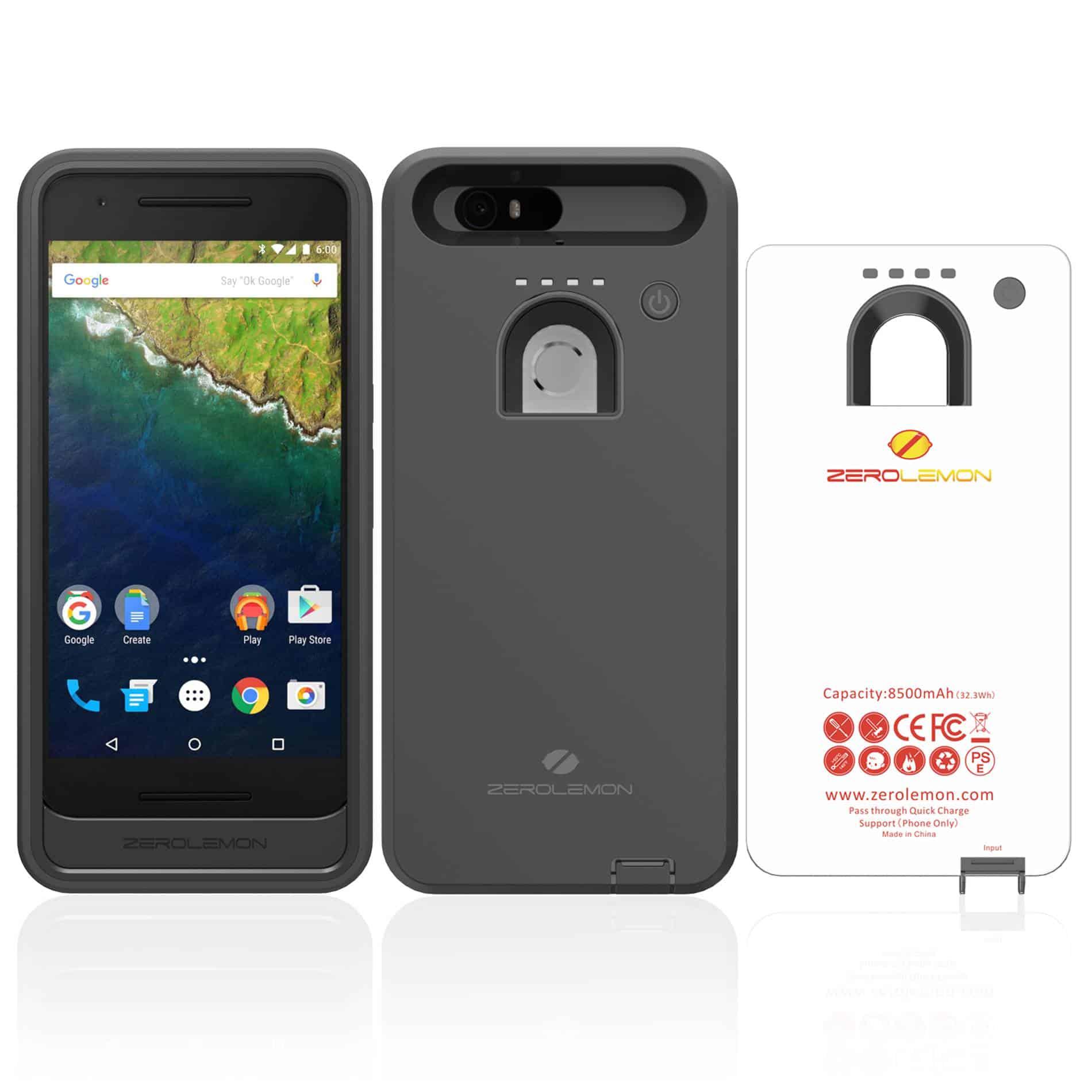 Nexus 6P 8,500mAh ZeroLemon battery case_1