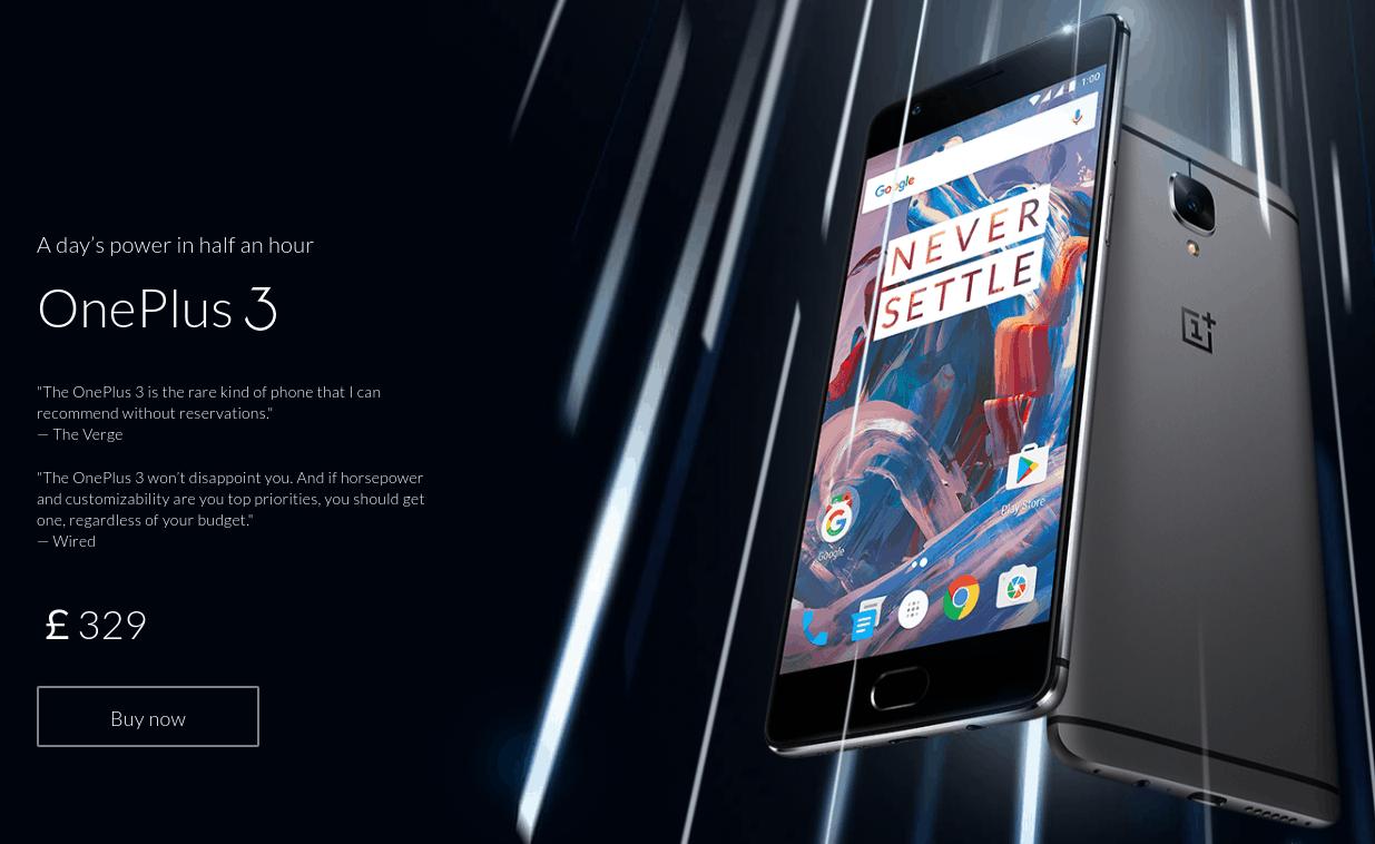OnePlus 3 price hike UK_1