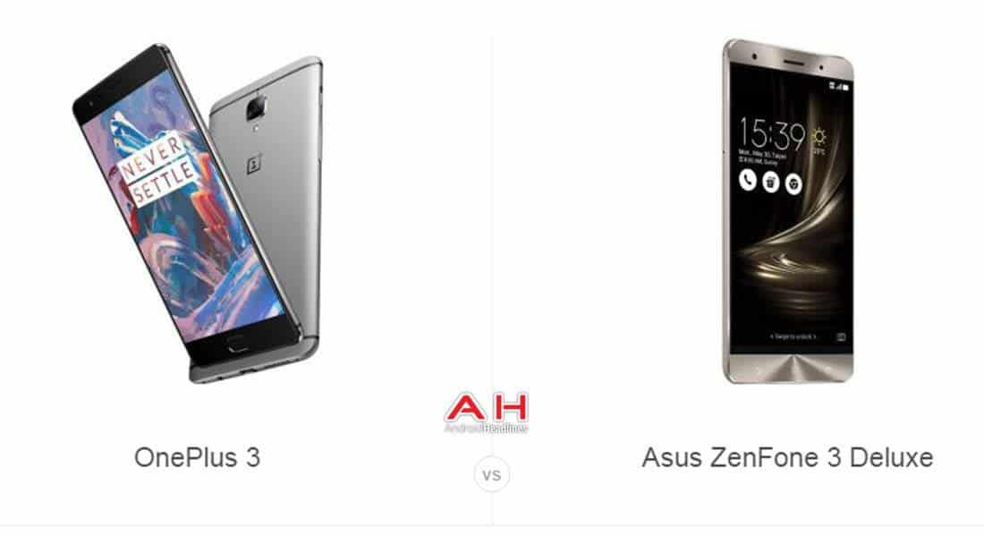 OnePlus 3 vs ZenFone 3 Deluxe cam AH