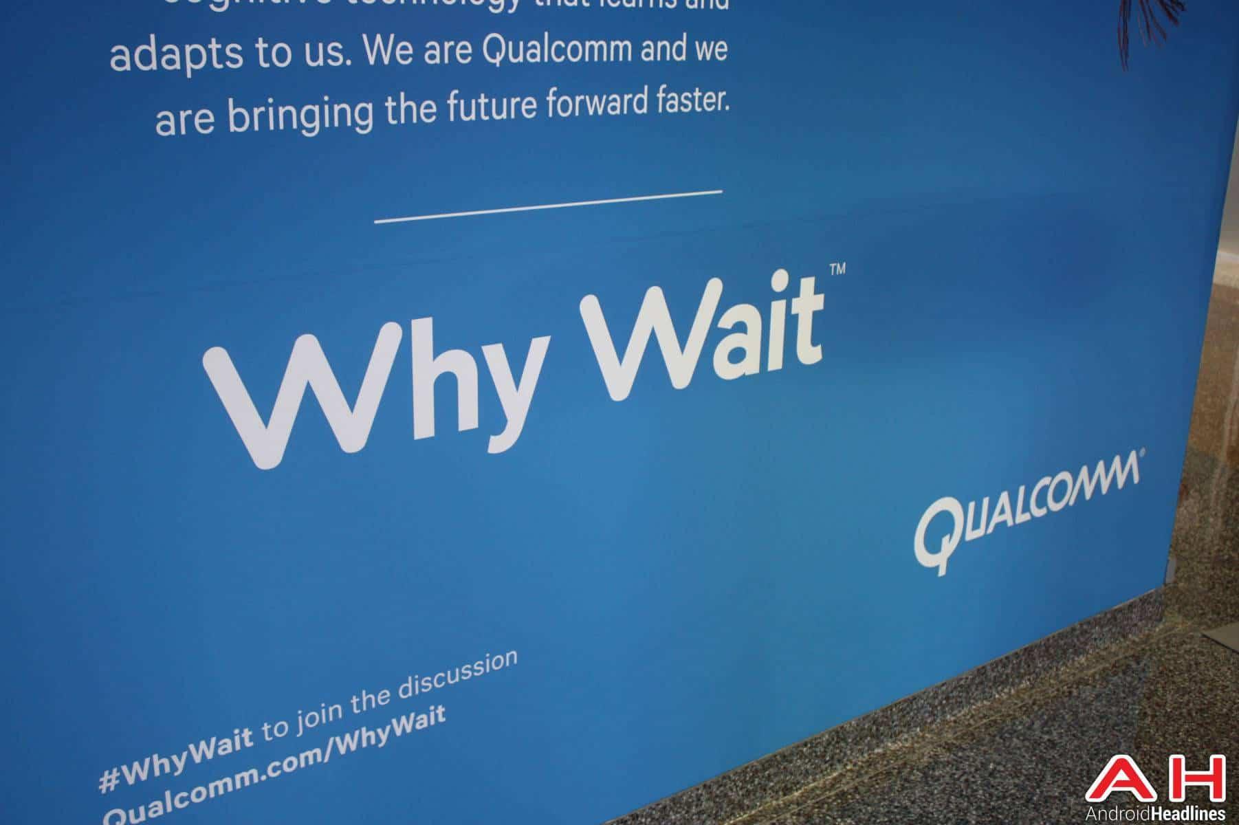 Qualcomm Logo Why Wait 2016 AH 2