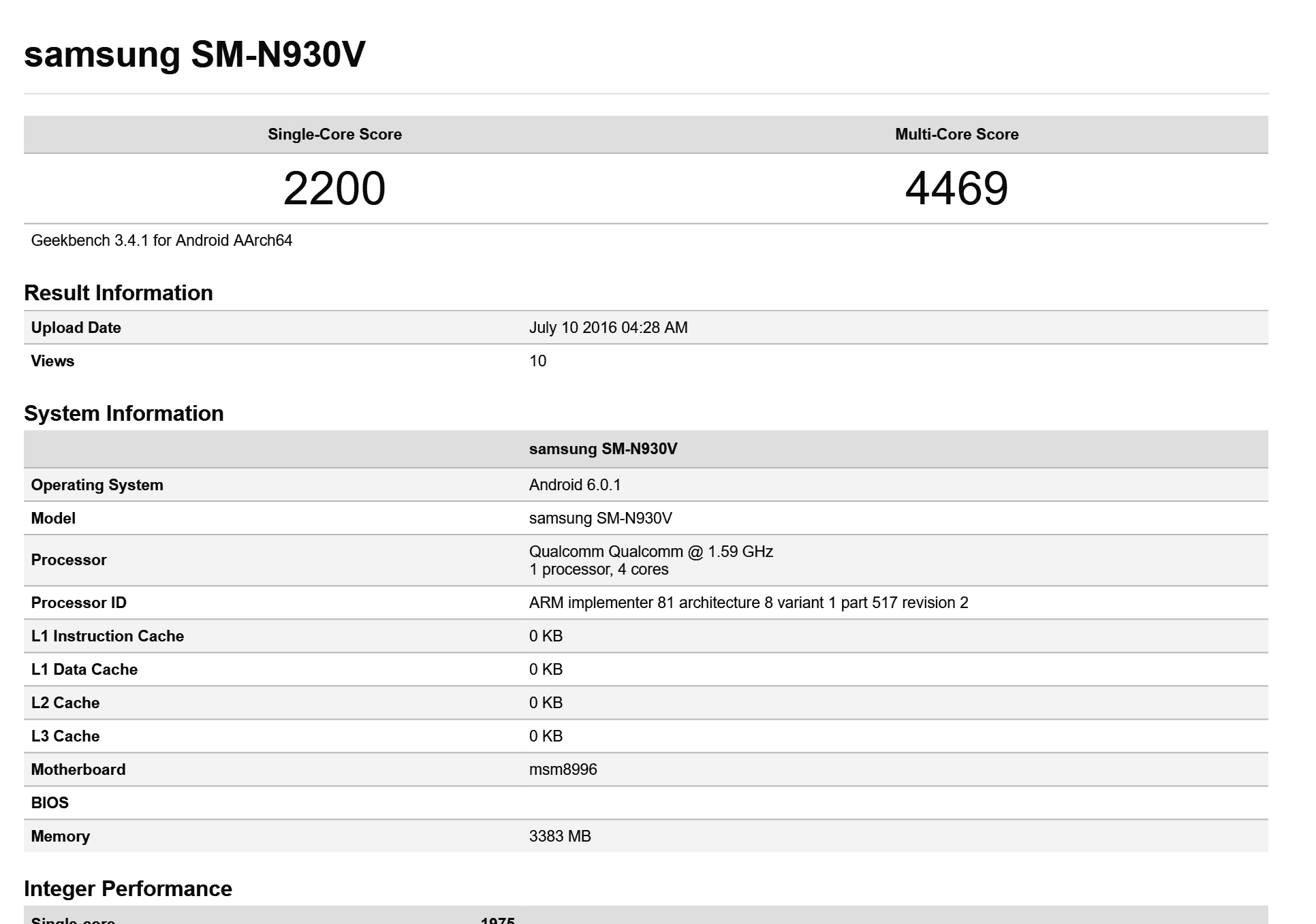 Samsung Galaxy Note 7 Verizon