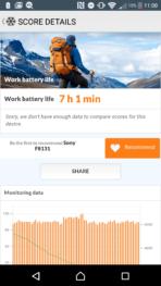 Sony Xperia X Performance AH NS Screenshots battery test