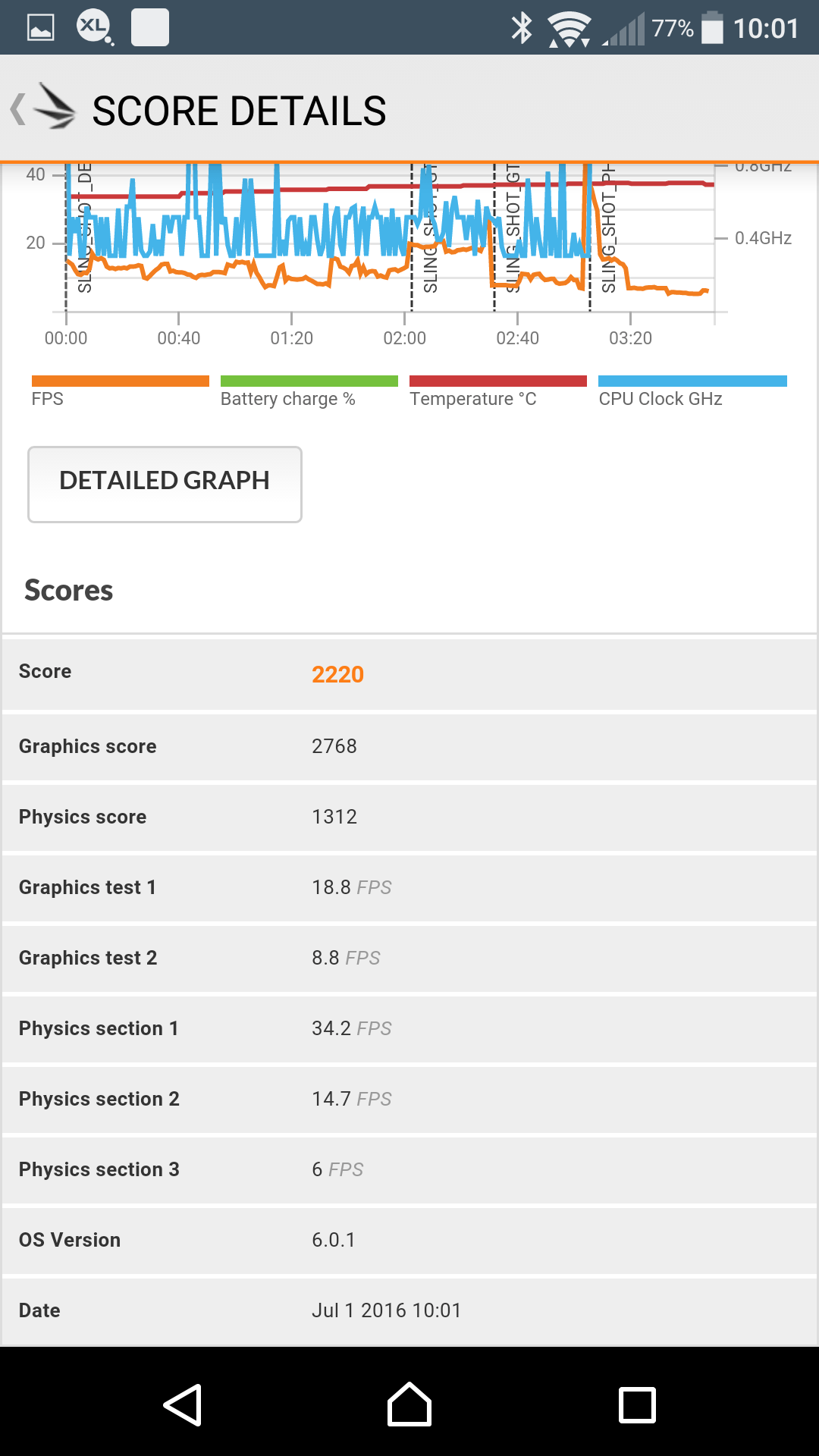 Sony Xperia X Performance AH NS Screenshots benchmark 2