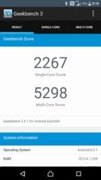 Sony Xperia X Performance AH NS Screenshots benchmark 7