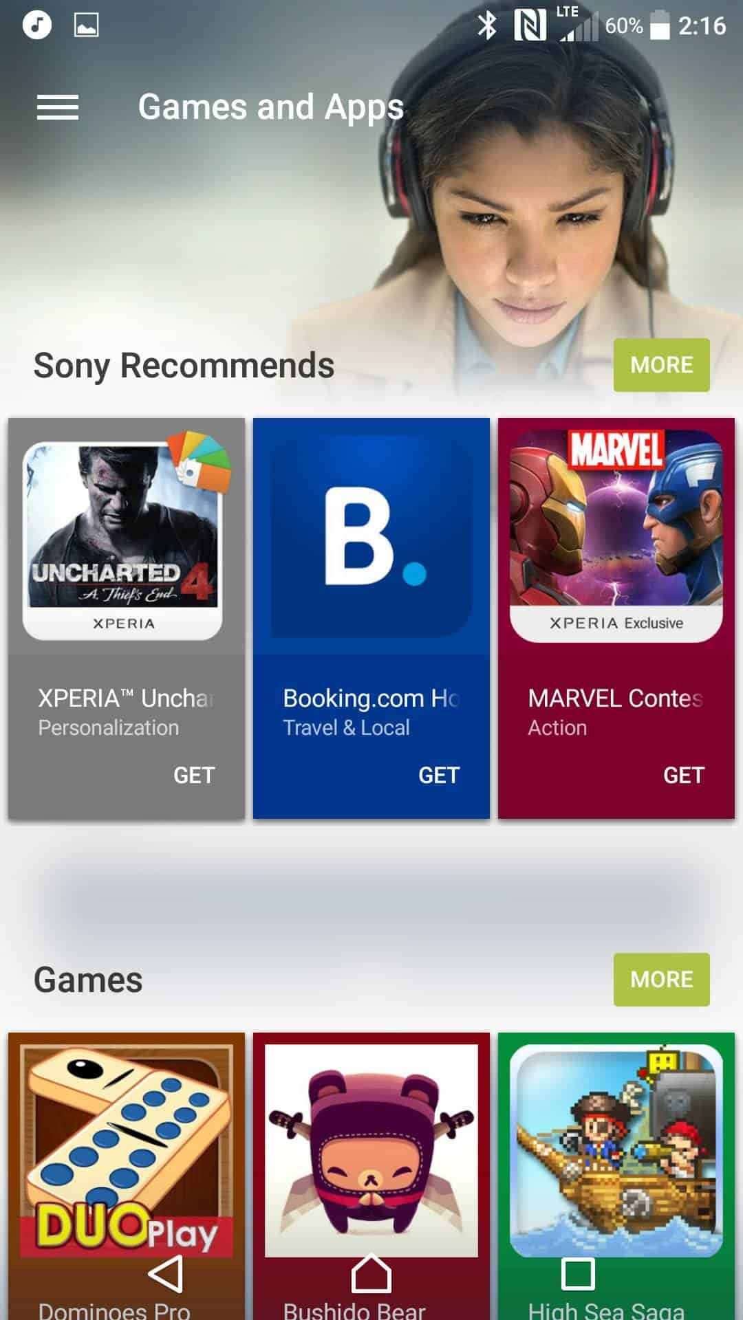 Sony Xperia X Performance AH NS Screenshots whats new 3