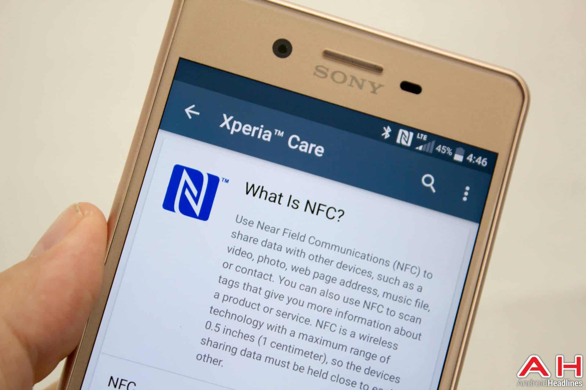 Sony-Xperia-X-Performance-AH-NS-wireless-nfc