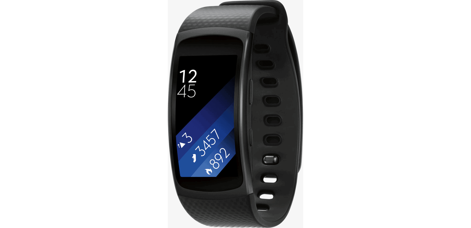 deal samsung gear fit2 fitness tracker for 79 5 5 17. Black Bedroom Furniture Sets. Home Design Ideas
