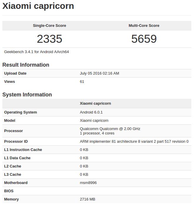 Xiaomi Capricorn Geekbench_1