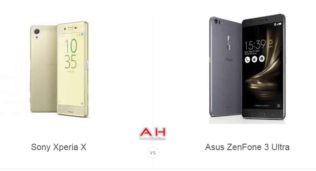 Xperia X vs ZenFone 3 Ultra cam AH