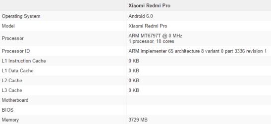 xiaomi Redmi Pro Geekbench_1