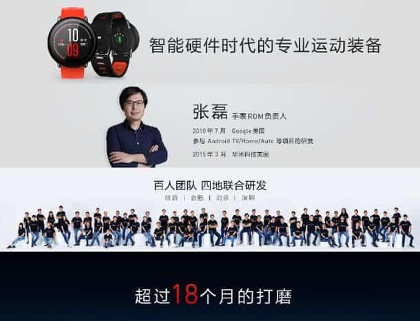 Amazfit Watch smartwatch 6