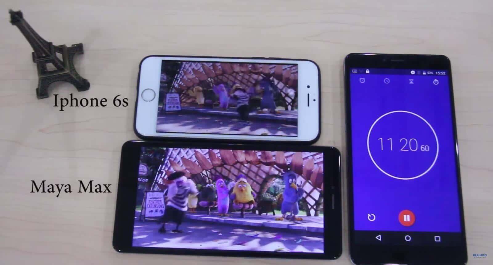 Bluboo Maya Vs Iphone