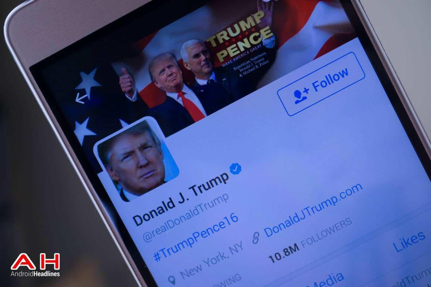 Donald Trump Twitter AH 1