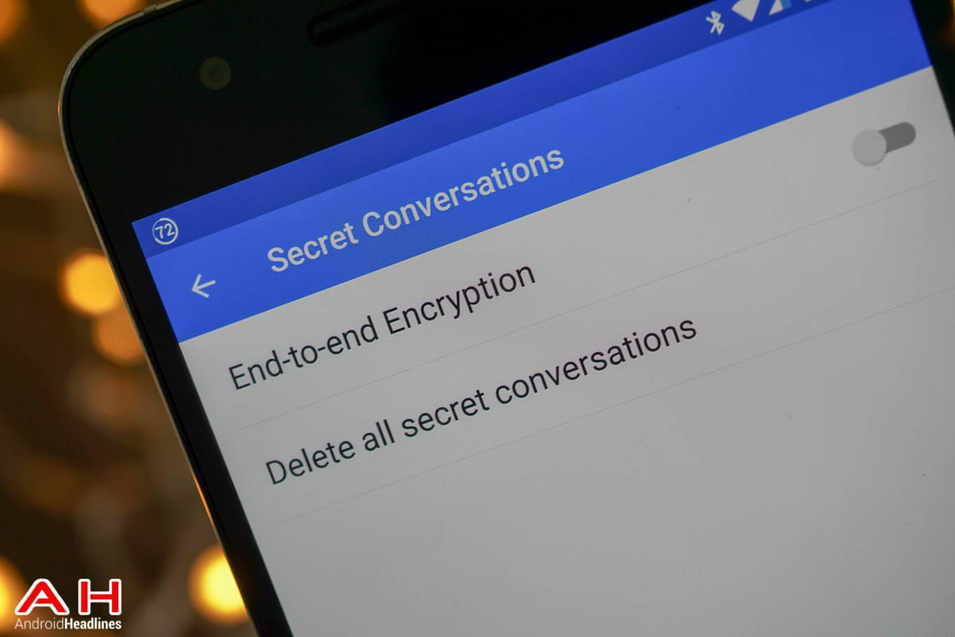 how to delete all conversation in messenger android