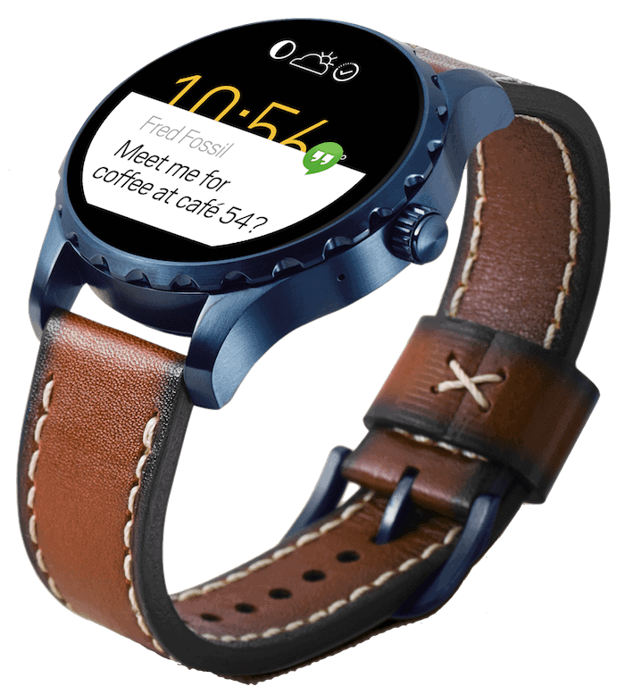 Fossil Q Marshal leather