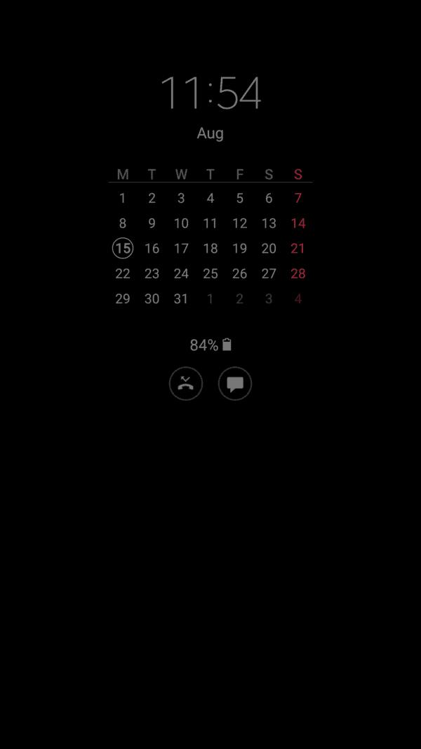 Galaxy Note 7 Always On Display screens (4)
