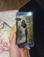 Galaxy Note 7 explodes