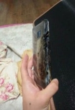 Galaxy Note 7 explodes 2