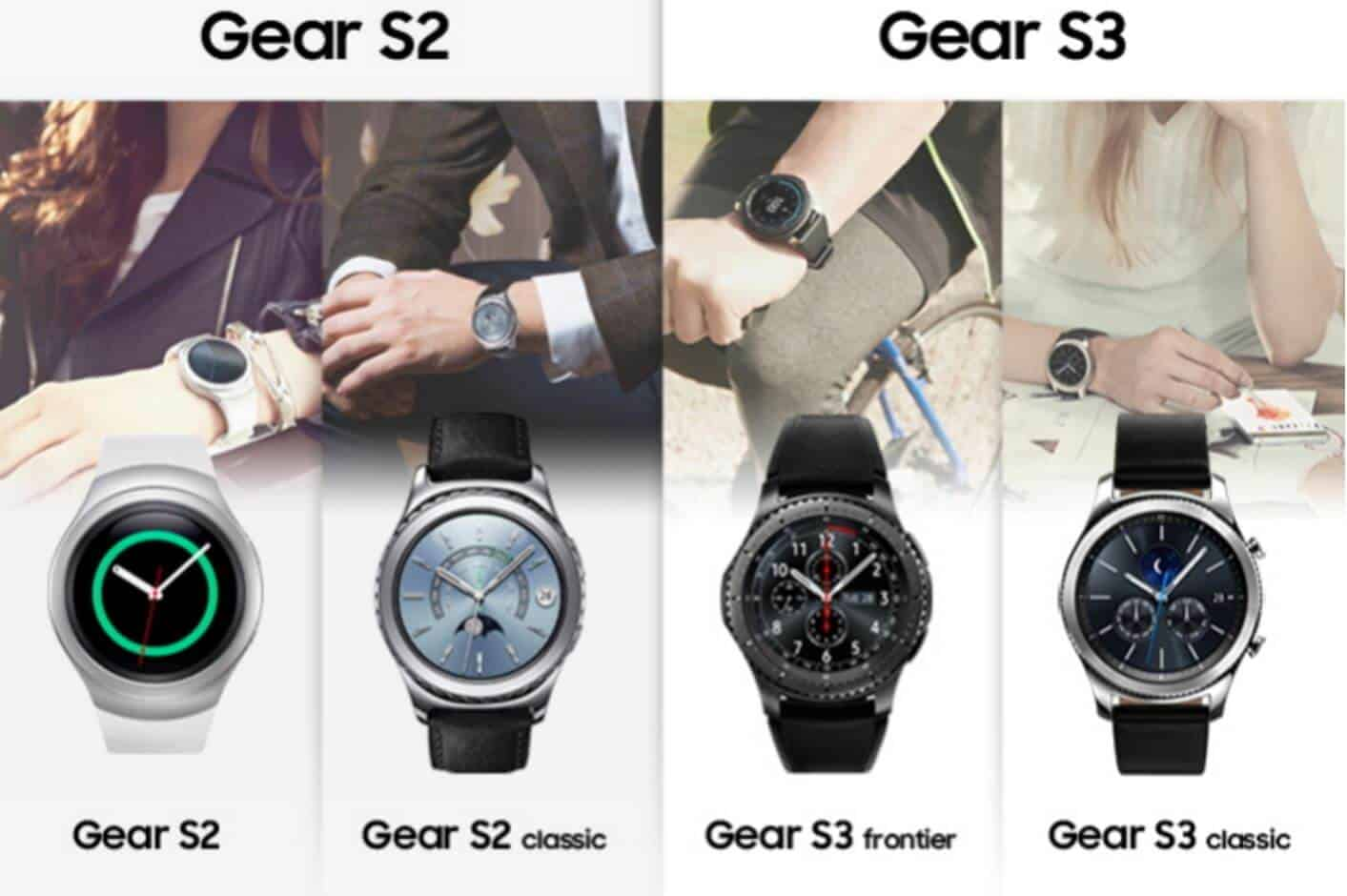 Samsung's Pits Gear S3 Against Gear S2 in Infographic ...