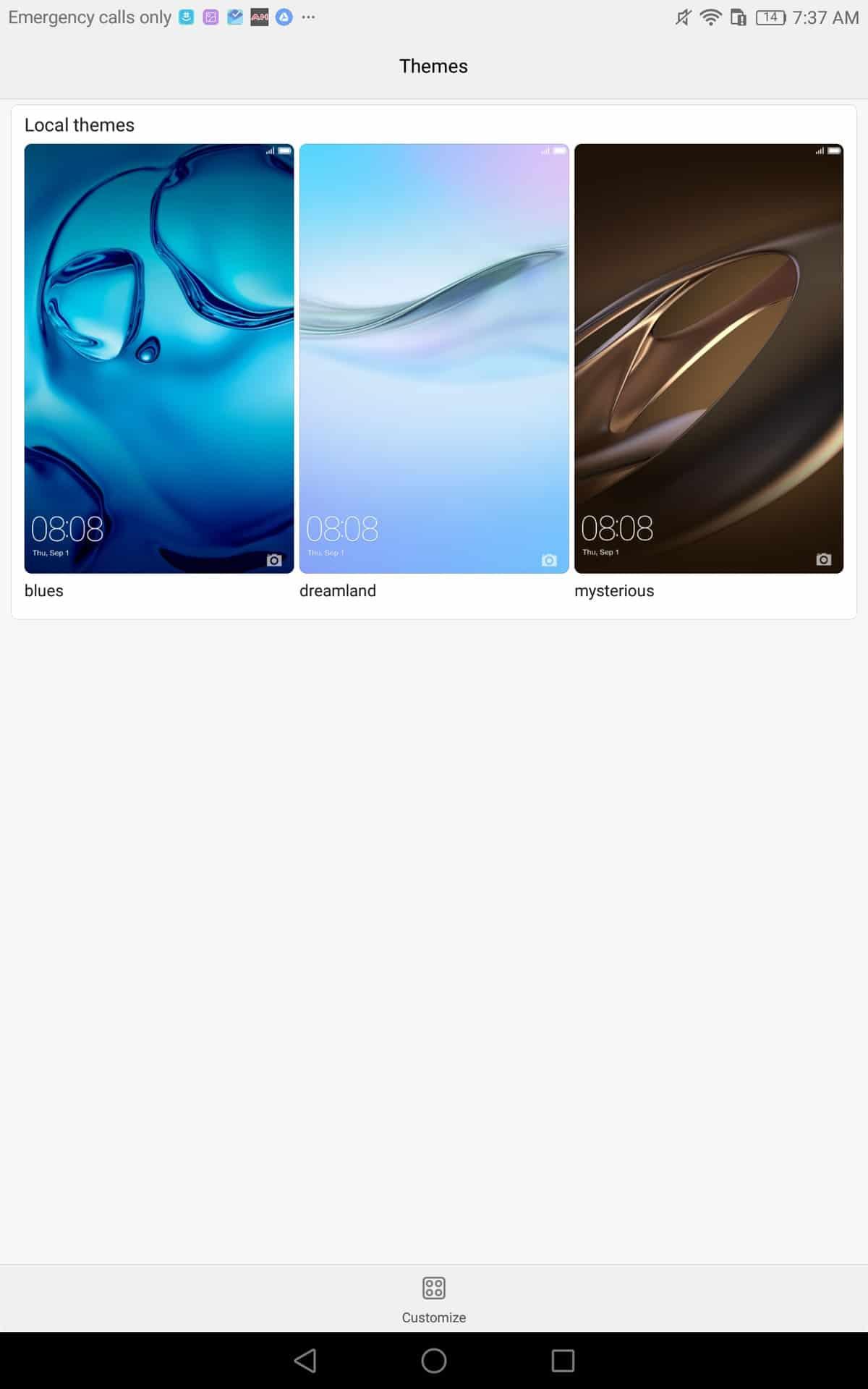 Huawei MediaPad M3 AH NS screenshots ui 05