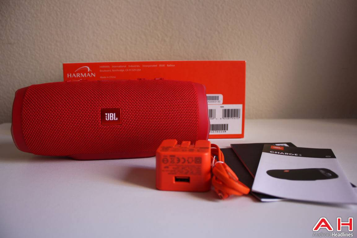 JBL Charge 3 Bluetooth Speaker AH-32