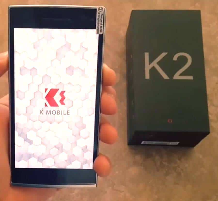 K2 Booting up