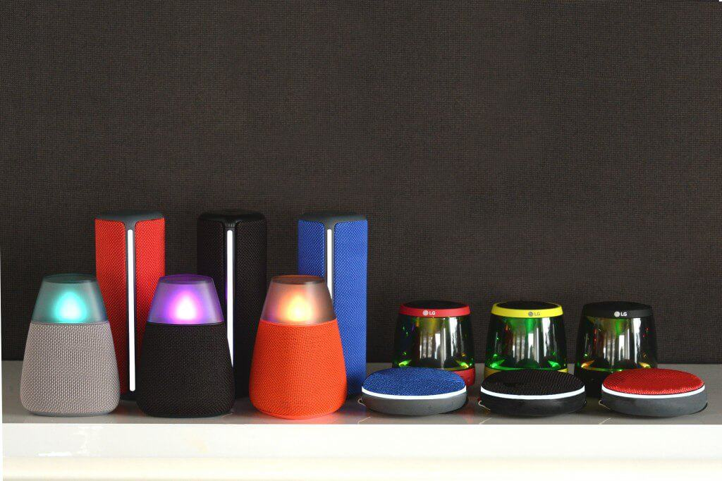 LG Introduces Four New 360-Degree Bluetooth Speakers   Androidheadlines.com