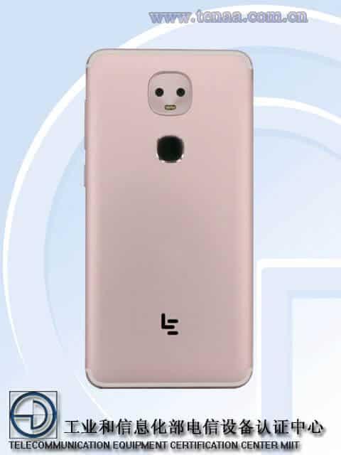 LeEco LEX652 TENAA 2