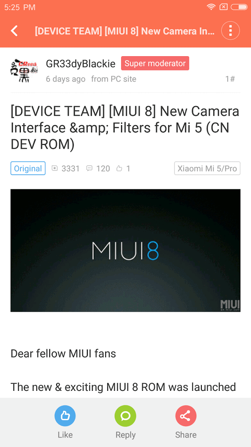 MIUI Forum app official image 4