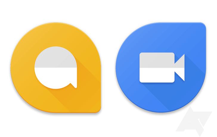 New Allo & Duo icons