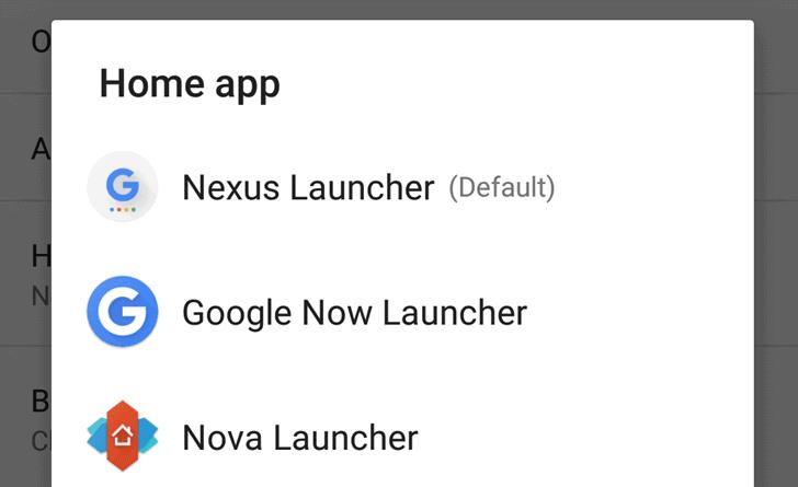 Nexus Launcher Google Launcher