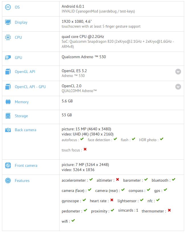 OnePlus 3 Mini GFXBench_1
