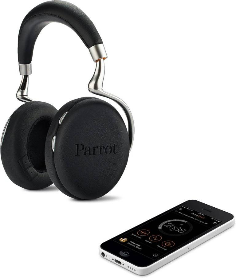 Parrot Zik 2.0 Wireless Noise Cancelling Headphones 03