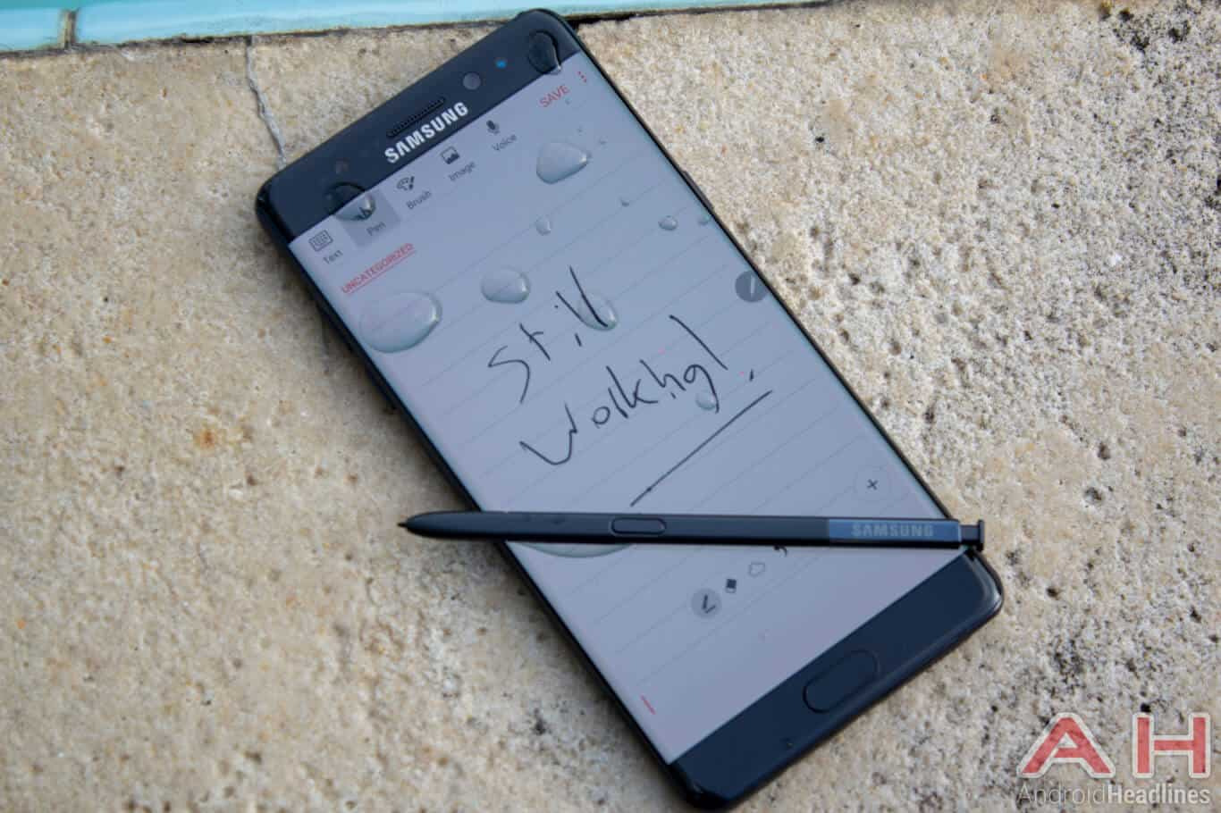 Samsung Galaxy Note 7 AH NS 01 s pen waterproof