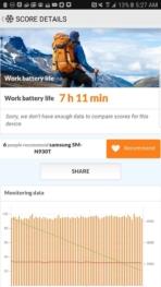 Samsung Galaxy Note 7 AH NS screenshots battery test