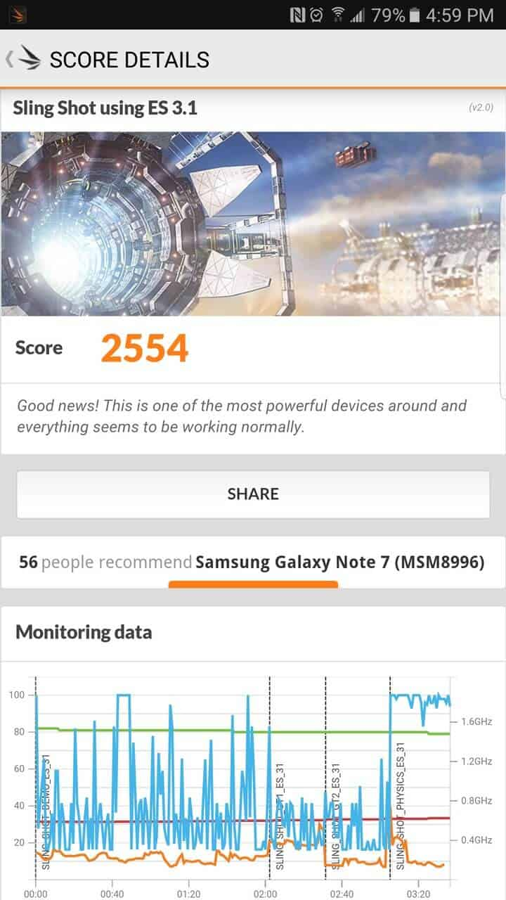 Samsung Galaxy Note 7 AH NS screenshots benchmark 01