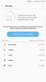 Samsung Galaxy Note 7 AH NS screenshots clean up