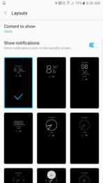 Samsung Galaxy Note 7 AH NS screenshots display 3